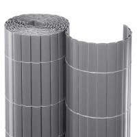 Balkonsichtschutzmatte Aluminium Rolle