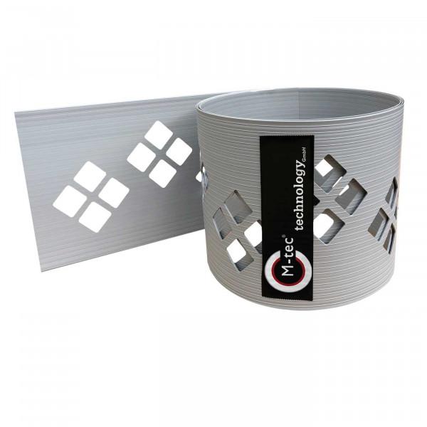 Dekor Hart-PVC Sichtschutzstreifen | Motiv Karo-Tape