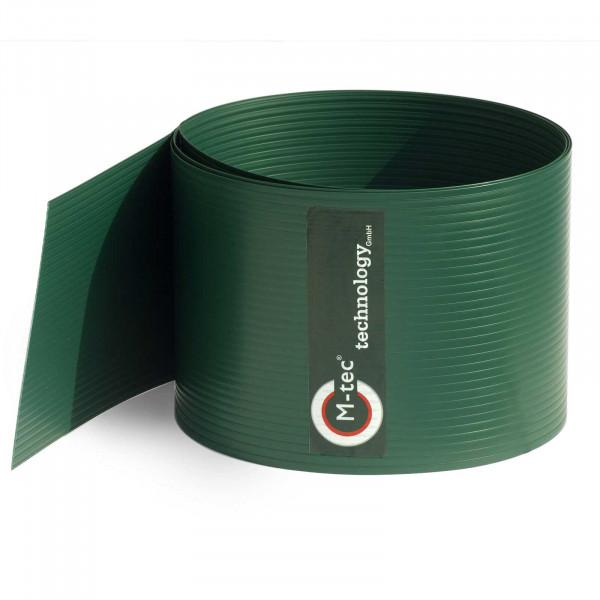 Hart-PVC Sichtschutzstreifen Grün - 19cm Höhe