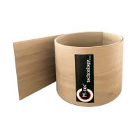 Hart PVC Sichtschutzstreifen Caramel-Optik Rolle