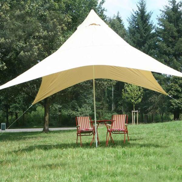 Sonnensegel Viereck Pyramide - Sonnenschutz und Regenschutz