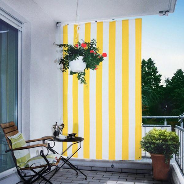 Senkrecht Sonnensegel für Terrasse und Balkon