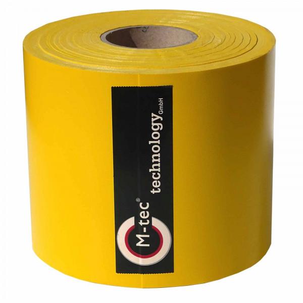 Weich PVC Sichtschutzstreifen in der Farbe Gelb