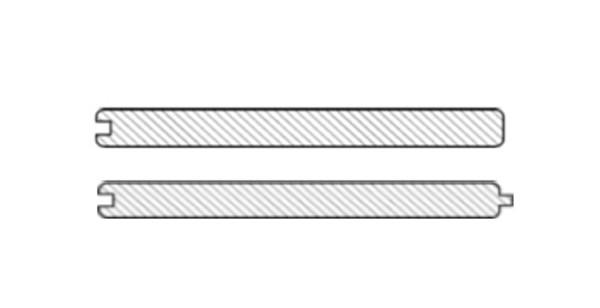 Elephant Batu Line Set 2 Bretter vorgebohrt (1x Abluss, 1x Standard)