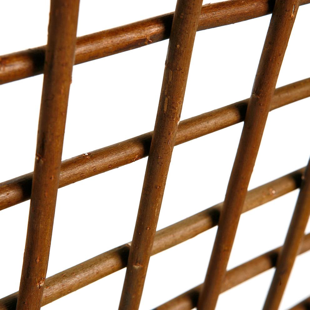 rankgitter spalier aus weide zum ausziehen sichtschutz shop. Black Bedroom Furniture Sets. Home Design Ideas
