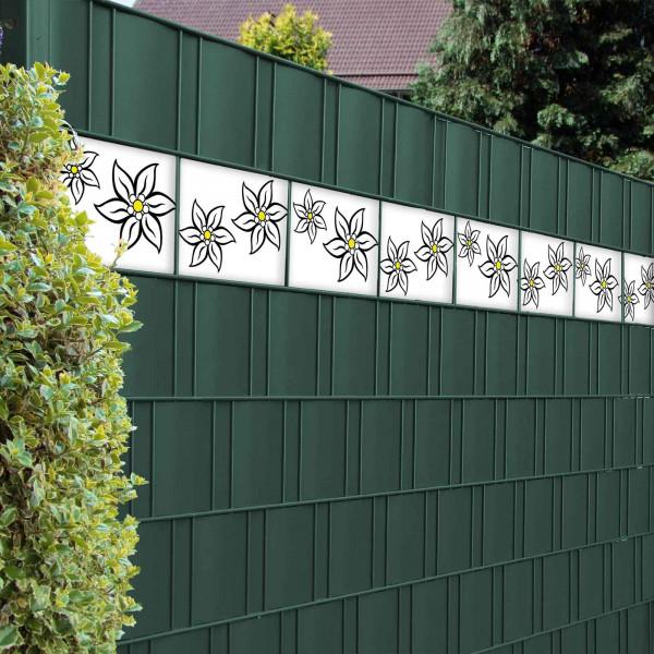 Bedruckte Kreativstreifen Motiv Edelweißblüte, Beispiel