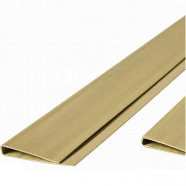 Abdeckprofil für Kunststoff Sichtschutzmatten Bambus