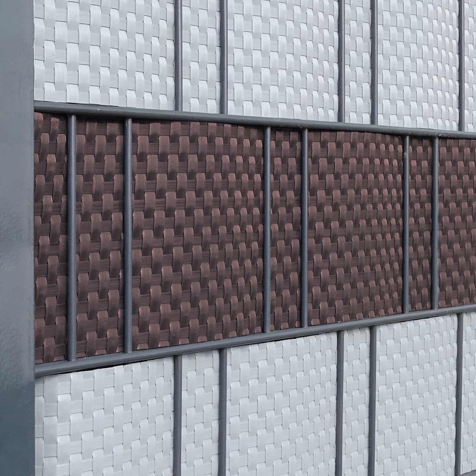Rattan Sichtschutzstrefen Braun Gunstig Kaufen Sichtschutz Shop