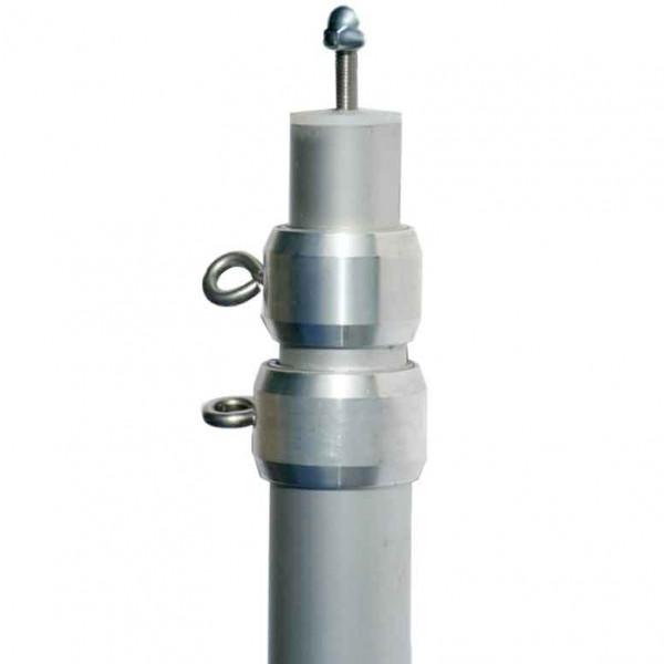 Aluminiumteleskopmast 3-teilig max. 280cm