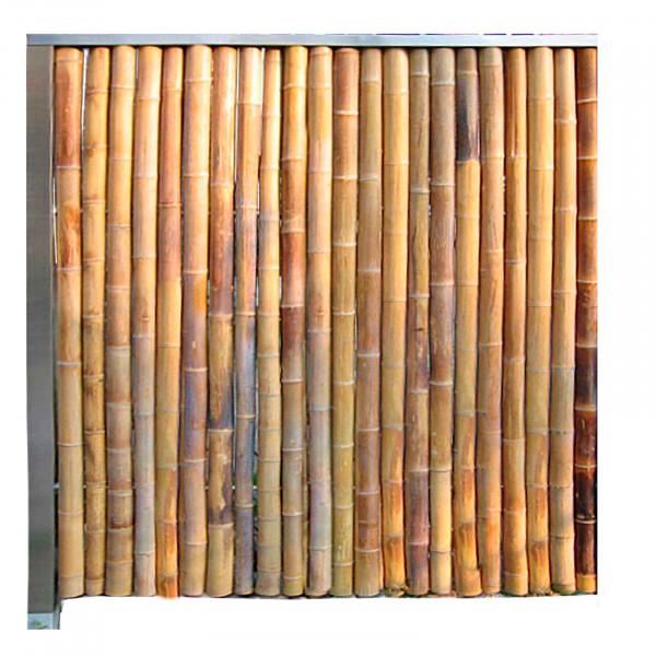Bambuswand Abschlusswand 150cm x 150cm