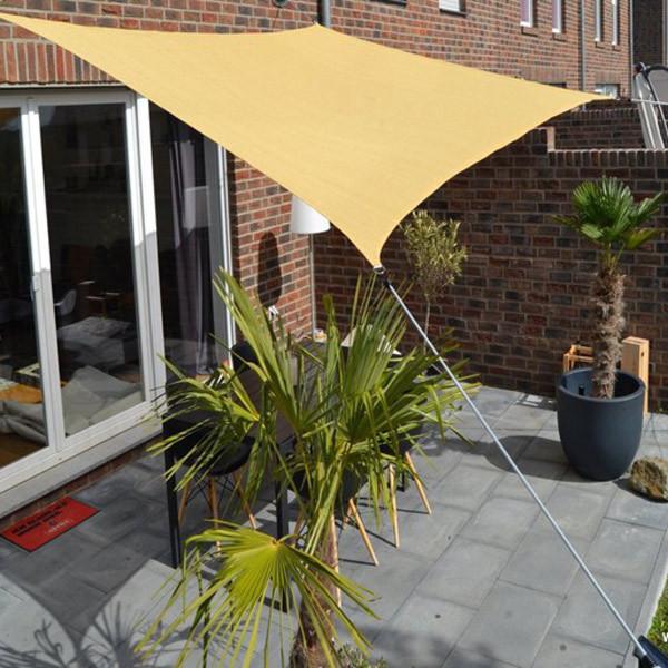 Vierecksonnensegel Sonnenschutz für Terrasse oder Balkon