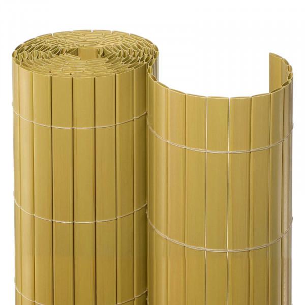 Balkonsichtschutzmatte Rolle Gelb