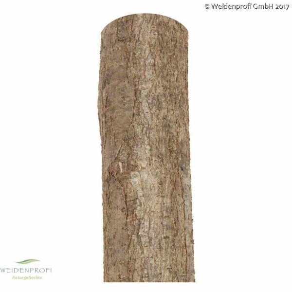 Haselnuss Zaunpfosten, unbehandelt, Höhe 200cm