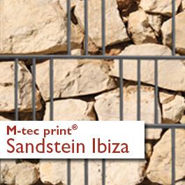 M-tec print® Weich-PVC Sandstein Ibiza 3 oder 9 Streifen