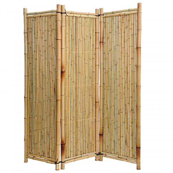 Natur Bambus Paravent, NOOR Deluxe Natur