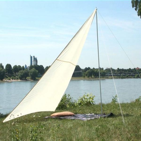 Dreiecksonnensegel für Camping, Garten, Strand