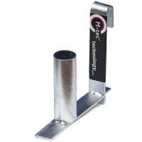 Abrollhilfe für Weich PVC Sichtschutzstreifen auf der Rolle