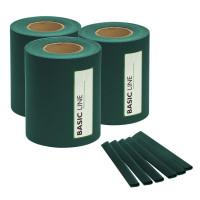 M-tec Sichtschutzstreifen, PVC, 35m x 19cm, Grün, 3er Set | Ausverkauf