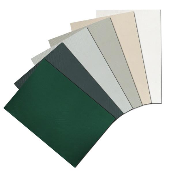 Weich-PVC Sichtschutzstreifen Musterzuschnitte