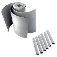 M-tec Profi-line® Lichtgrau fertig geschnittenens Komfort Pack mit Klemmschienen