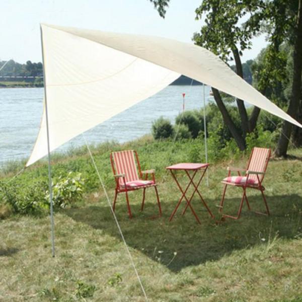 Viereck Sonnensegel für Camping, Garten, Strand