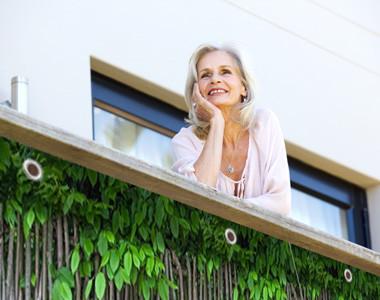 Sichtschutz für den Balkon