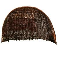 Strandmuschel aus geflochtener Weide