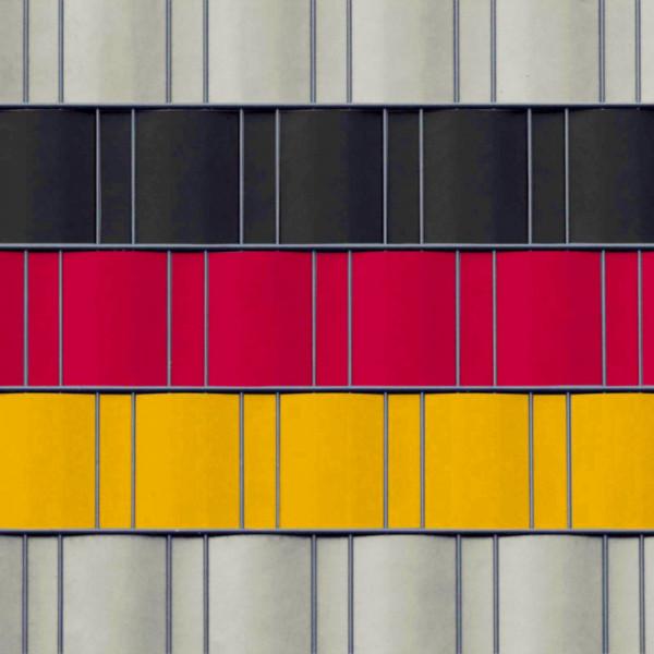 Bedruckte Kreativstreifen Motiv Deutschland
