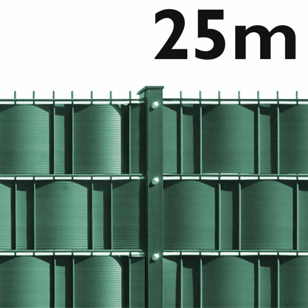 Gittermattenzaun - leichte Ausführung 25 m