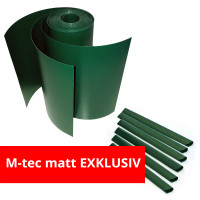 M-tec Profi-line® Grün fertig geschnittenes Komfort Pack mit Klemmschienen