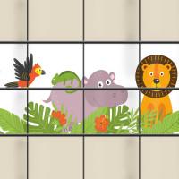 Sichtschutzstreifen - Jungle Kids ideal für Kitas, Schulen und Spielplätze