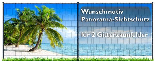 Panorama - Eigenes Motiv - 2 Zaunfelder