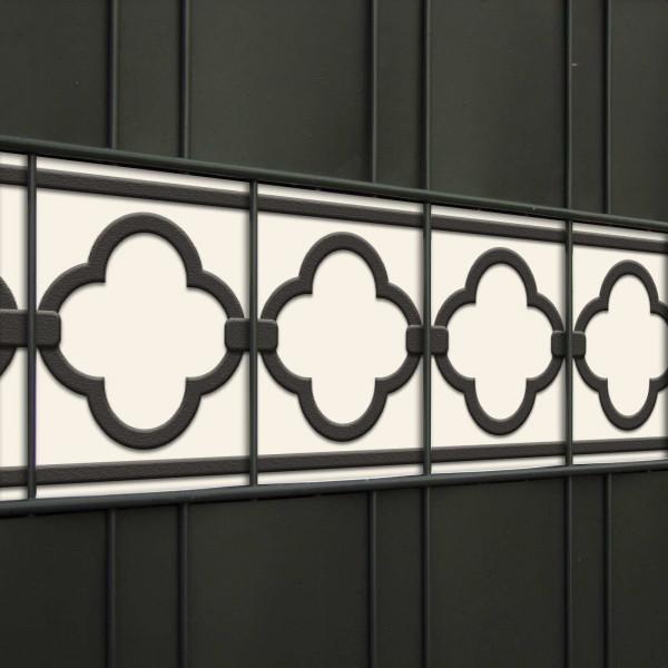 Design Zaunstreifen Motiv Florenz Detailansicht