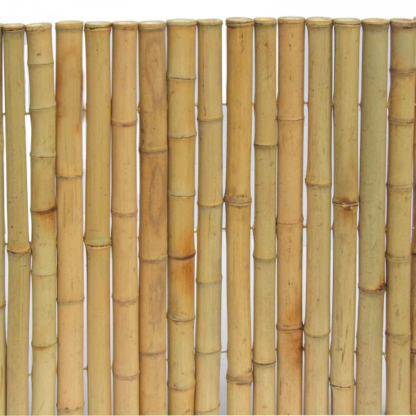 Sichtschutzmatte aus Bambus Nagoya Typ nature