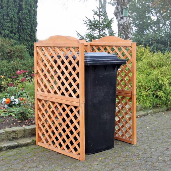 Mülltonnensichtschutz - Rustica
