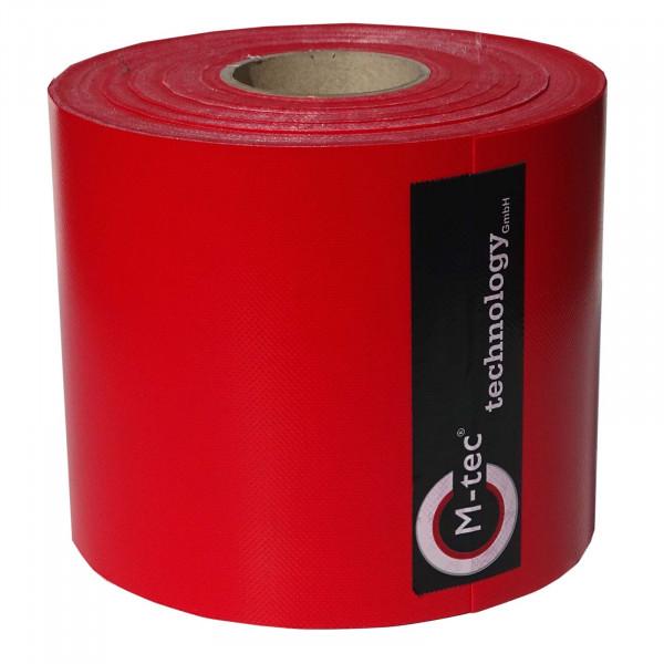 Weich-PVC Sichtschutzstreifen Profi-line Farbe Rot